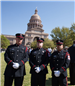 Kilgore Fire Department Honor Guard in Austin for State Firefighter Memorial 2
