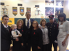 Walter Herrera with President Obama and the First Lady in West, Texas at Memorial