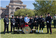 Kilgore Fire Department Honor Guard in Austin for State Firefighter Memorial