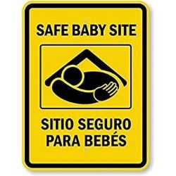 Baby Safe Haven sign