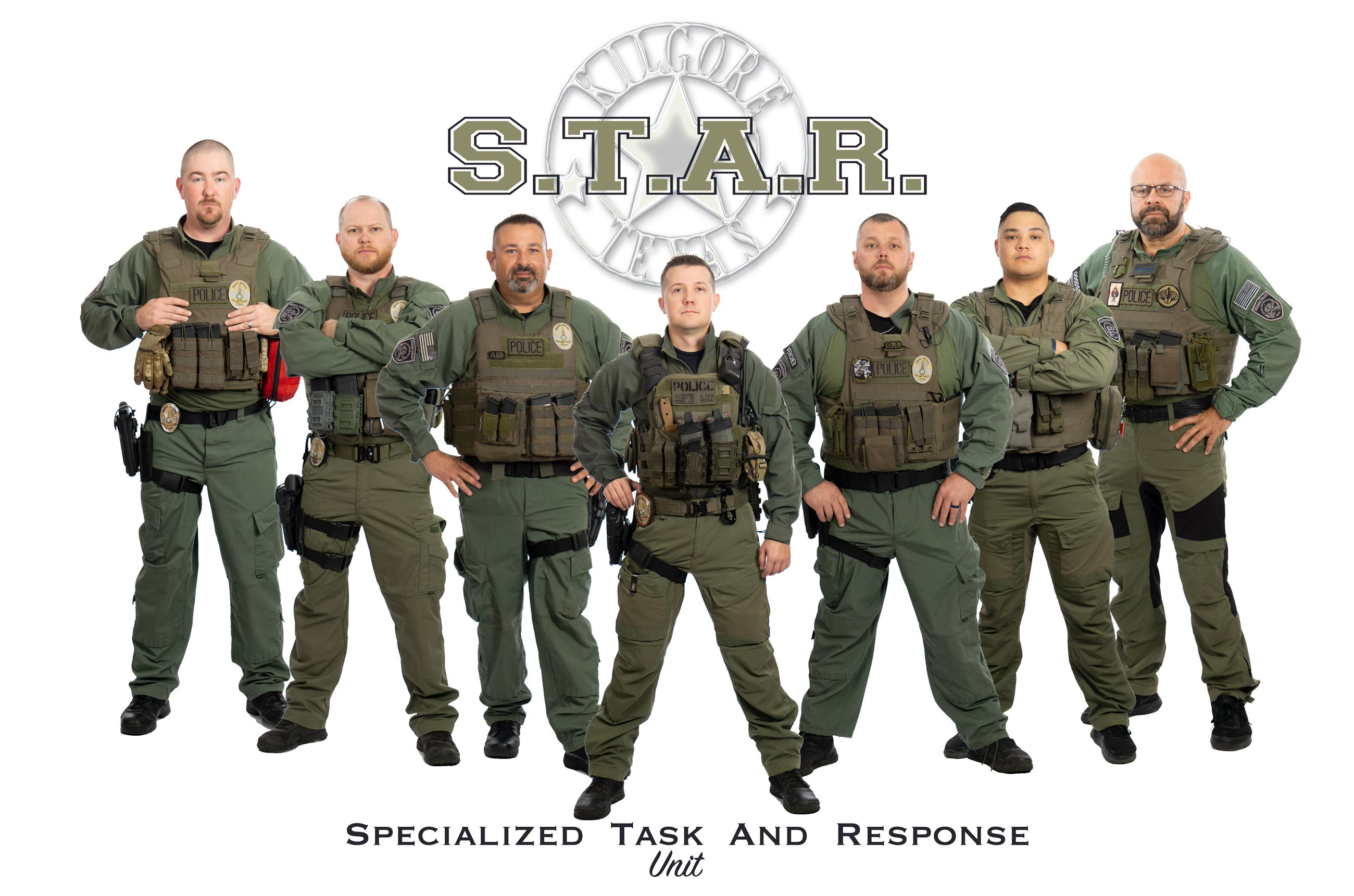 S.T.A.R., specialized tactical and response unit, STAR