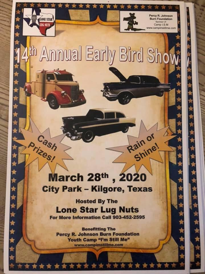 Lone Star Lug Nutz Car Show flyer