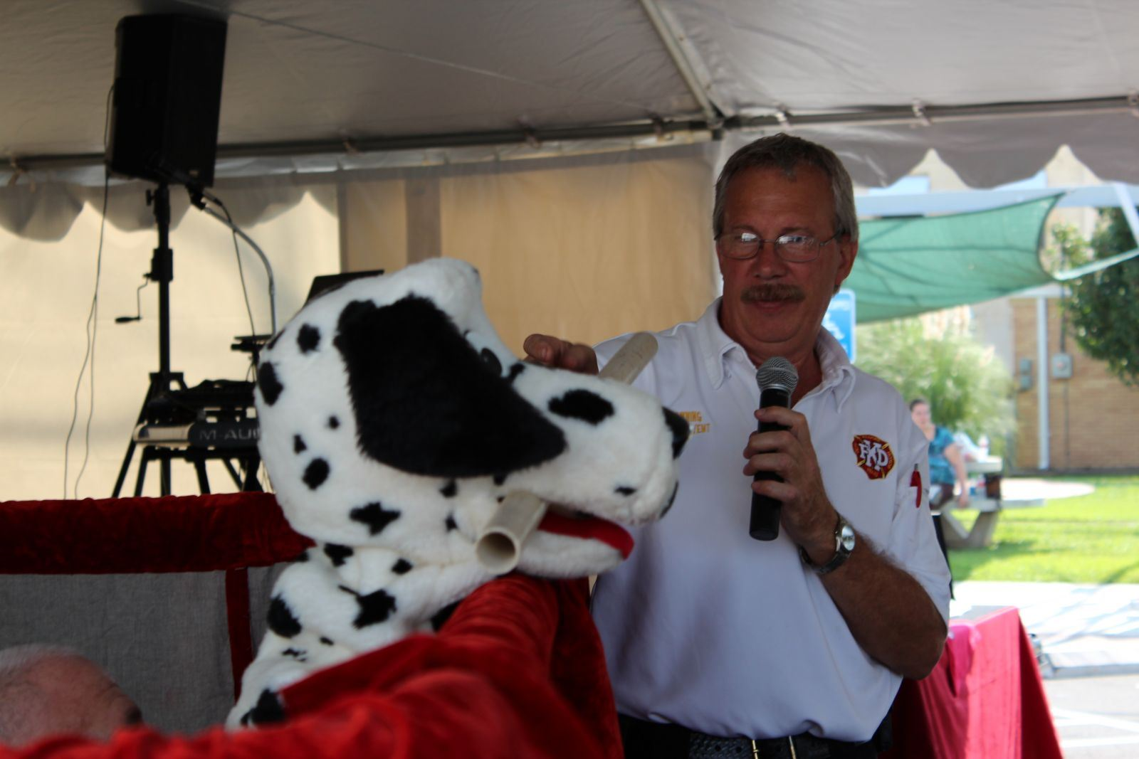 Sparky the Fire Safety Dog Presentation