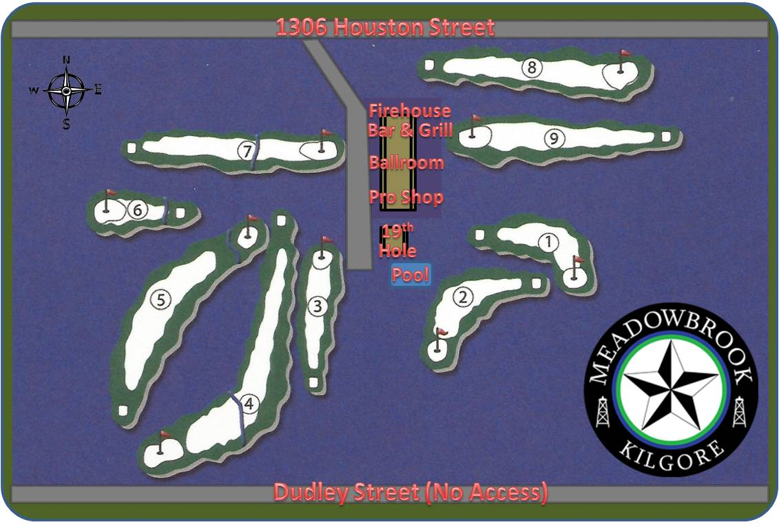 Meadowbrook Course Map