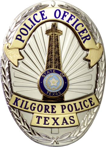 Kilgore Police Department Badget