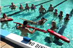 Lifeguards Going Through Training
